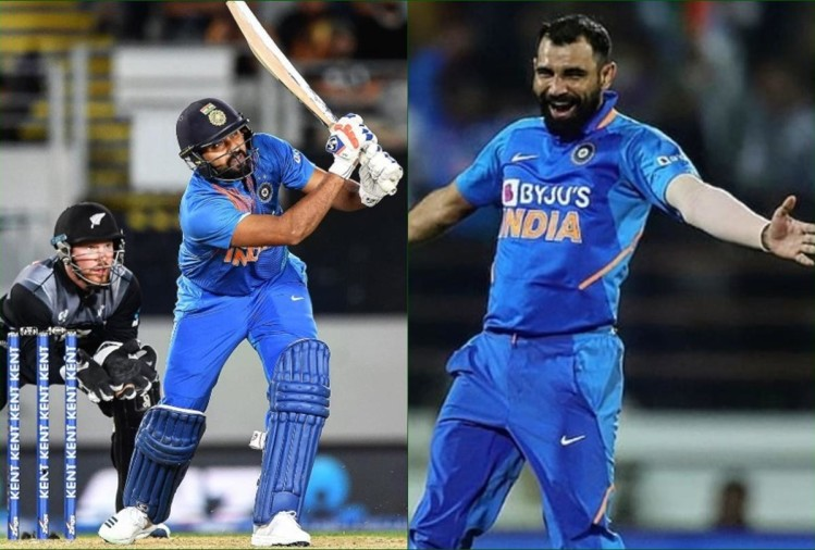 Image result for shami and rohit