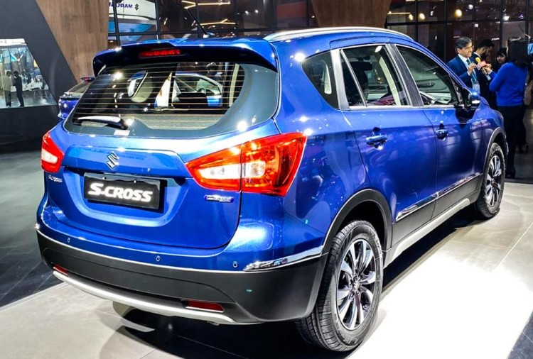 Maruti S-Cross Rear Auto Expo