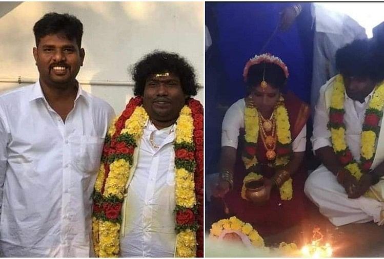 Yogi Babu Manju Bhargavi Marriage