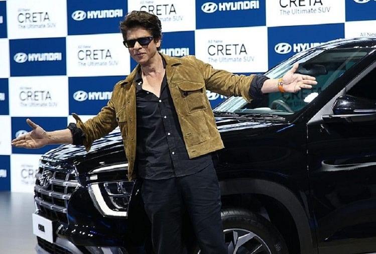 Auto Expo 2020 Shahrukh Khan Presenting Hyundai Creta Second Generation