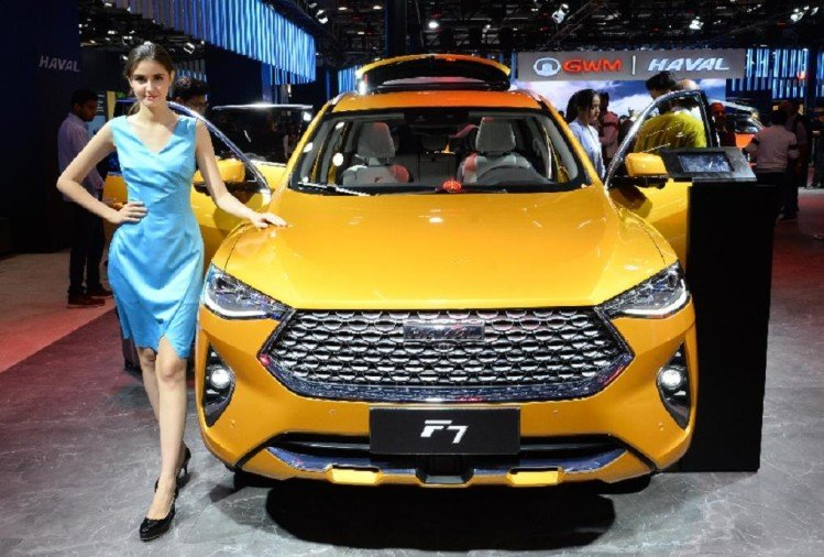 Auto Expo 2020 Great Wall Motors F7