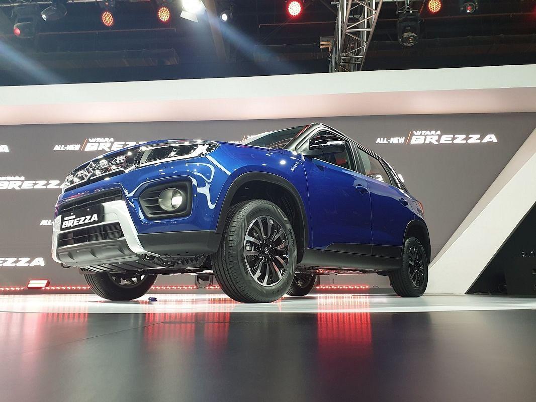 Maruti Suzuki Vitara Brezza Facelift