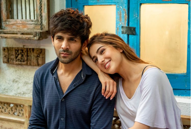 Kartik Aryan and Sara Ali Khan