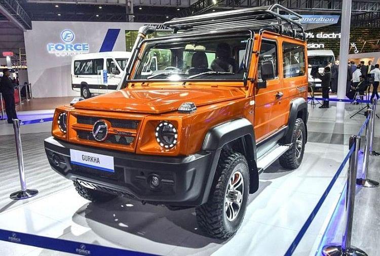 Auto Expo Force Gurkha