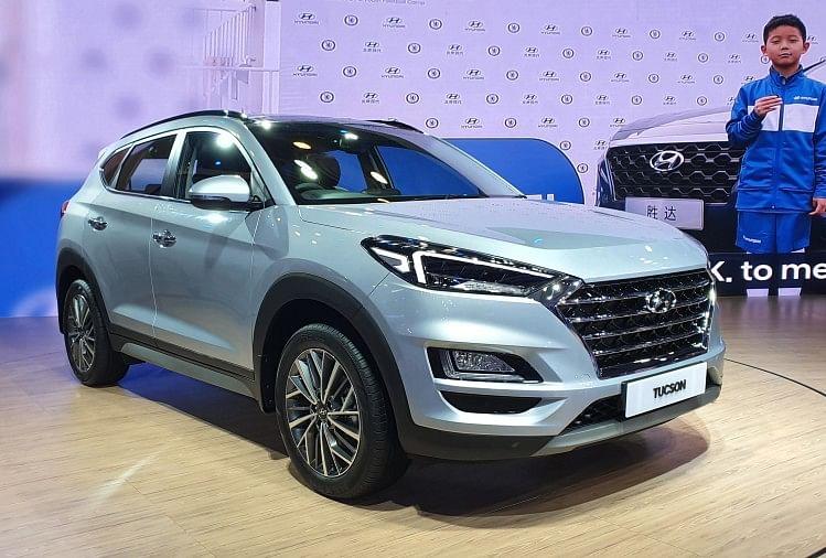 Auto Expo Hyundai Tuscon