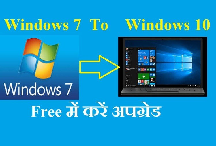 windows 7 to windows 10 free upgrade