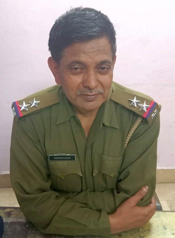 एसआई रोहताश सिंह। फाइल फोटो।