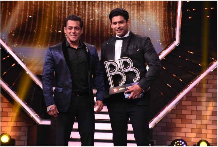 Salman Khan and Sidharth Shukla