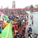 mahashivratri 2020 : huge number of kanwariyas in haridwar