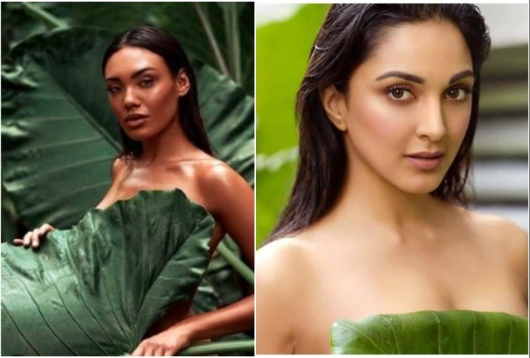 Model with Kiara Advani