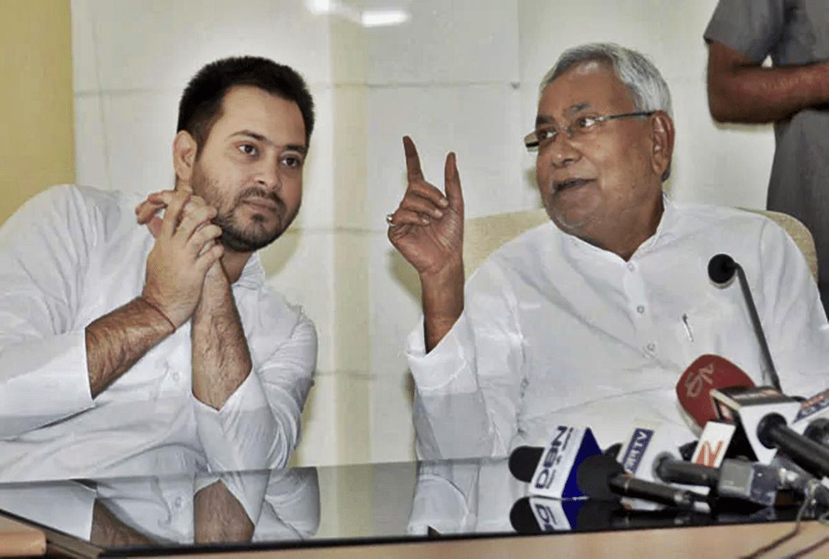 Cm Nitish Kumar Rjd Leader Tejashwi Yadav Meeting Resolution ...