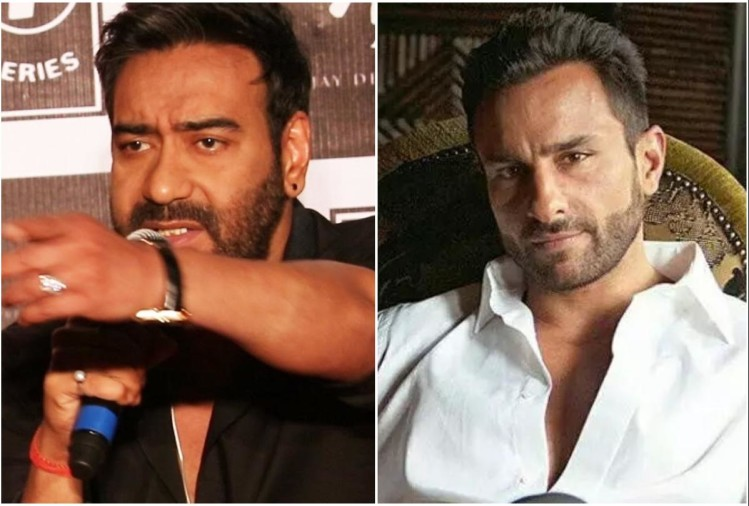 Ajay Devgn and Saif Ali Khan