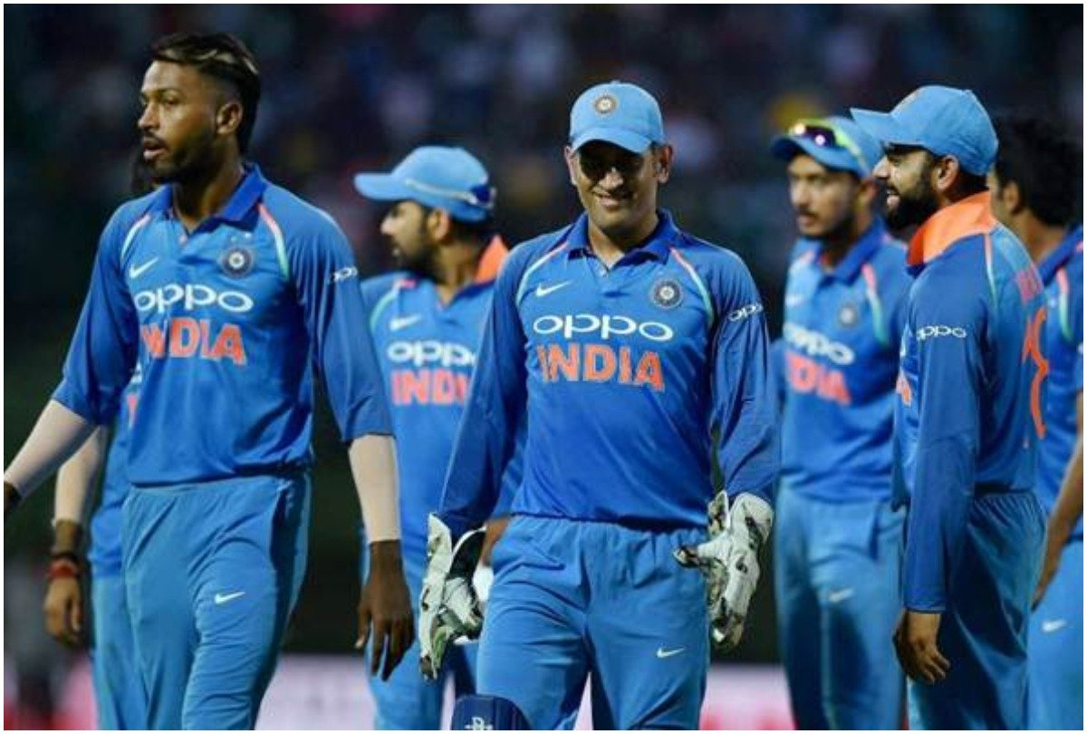 VIVO sponsored Team India in Jersey
