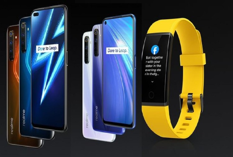 Realme 6 Pro, Realme 6 and Realme Band