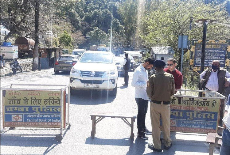 corona virus Himachal Pradesh ban on entry of vehicles coming from other parts of India