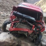 Two men killed as car falls into gorge in sangla kinnaur himachal pradesh
