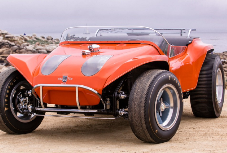 Dune Buggy redesigned from chassis of Volkswagen Beetle