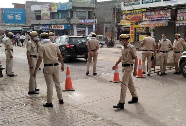 Coronavirus, Haryana Police Working For Lockdown ...