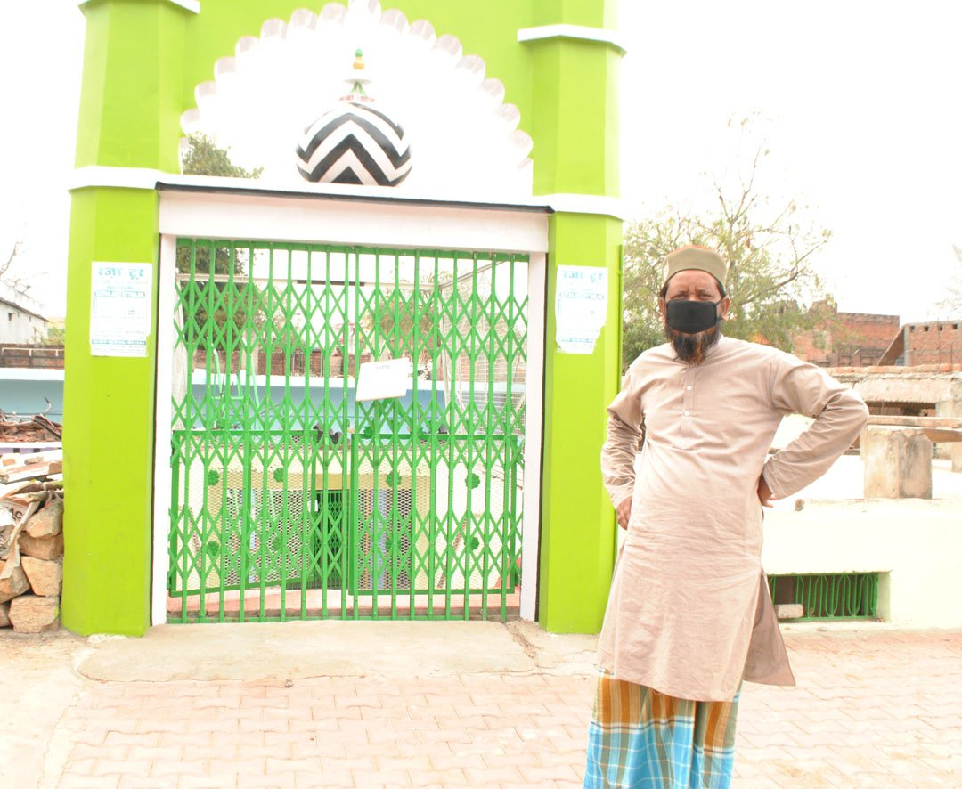 Lockdown in mosques as well, prayers offered in homes