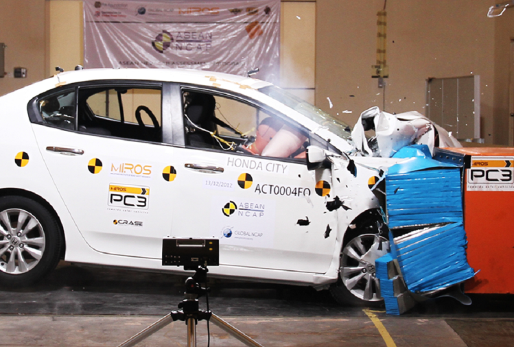 2020 Honda City ASEAN NCAP Crash Test
