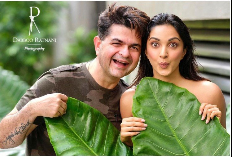 Dabboo Ratnani and Kiara Advani