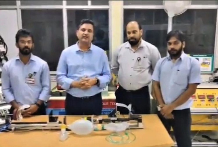 Mahindra Develops Prototype Of A Ventilator