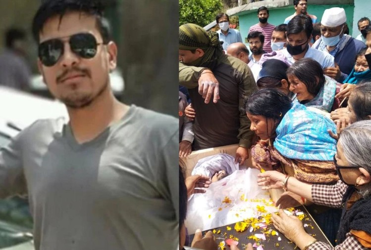 Martyr Amit Anthwal Father Feel proud on Son Funeral Funeral in pauri, He was in Balakot Air Strike, only Brother of two sisters