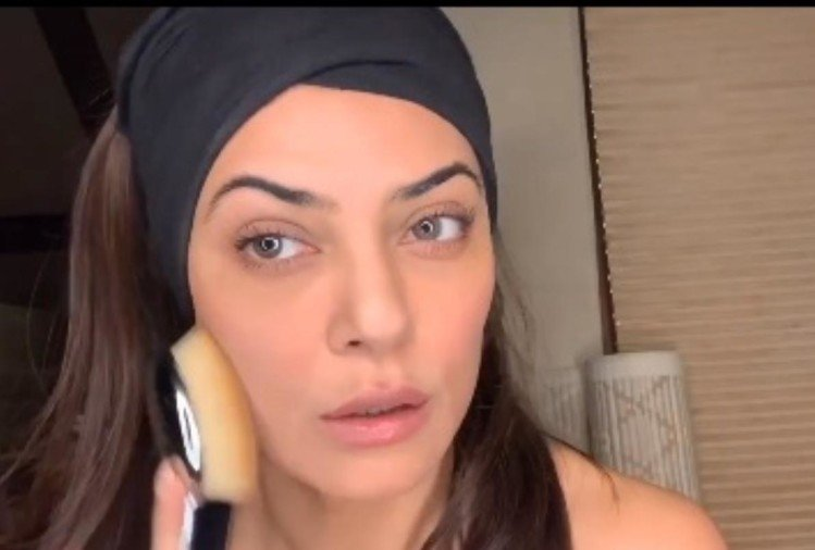 sushmita sen shares makeup tutorial video on instagram