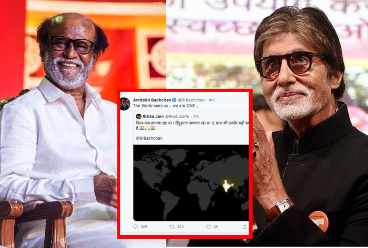 Amitabh and Rajinikanth