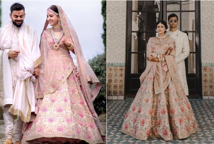 us based real life bride copied anushka sharma wedding lehenga