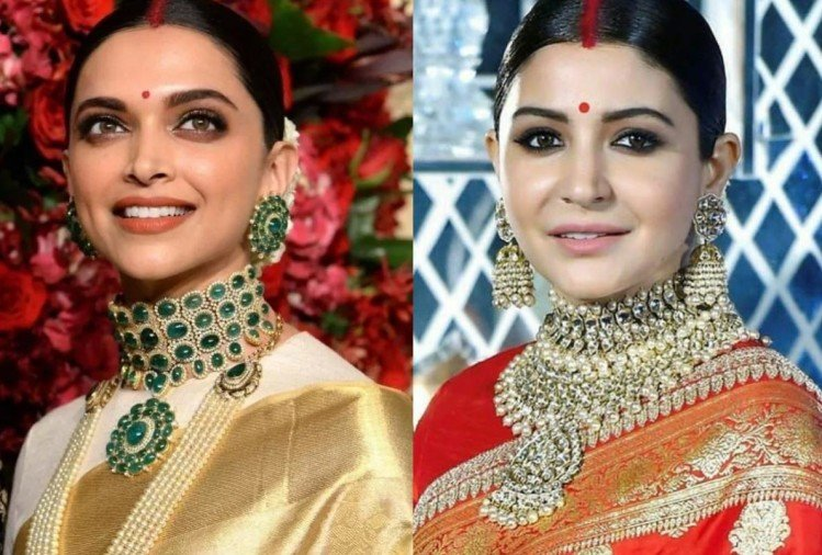 deepika padukone to anushka sharma bridal look inspired every to be bride for reception party