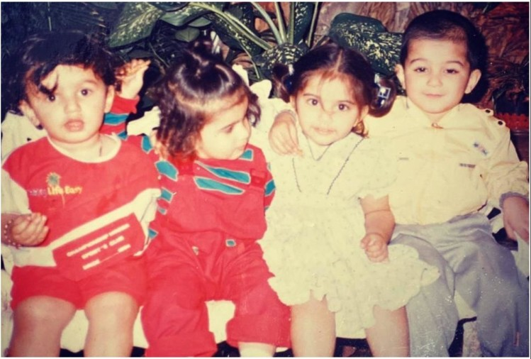 Arjun Kapoor shared childhood picture