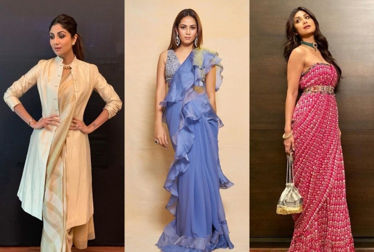 four innovative ideas to carry saree with stylish way