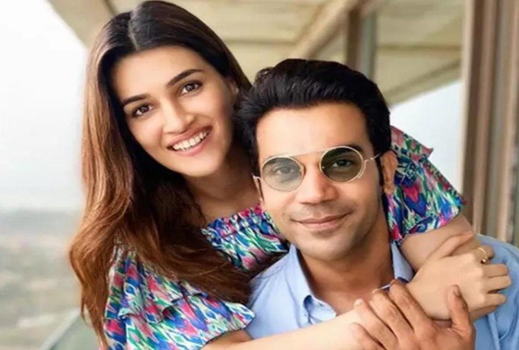 Rajkummar Rao and Kriti Sanon