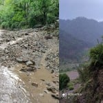 Uttarakhand weather: Extreme Rainfall destroyed crops in uttarkashi, debris and boulders on road