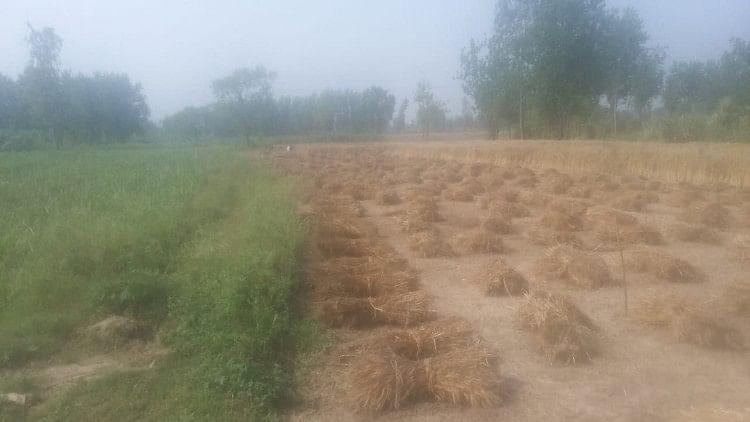हॉटस्पॉट गांव कवाल सील होने से किसानों की मुसीबत
