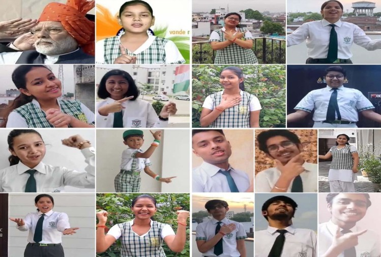 कोरोना वायरस के विरुद्ध जारी सरकार के प्रयासों में अपनी सहभागिता दर्ज कराते हुए डीपीएस इटावा के बच्चों ने अपने घरों में ही रहकरकोरोना वाॅरियर्स के उत्साहवर्धन व उन्हें सलामी देने वाला एक गीत मुस्कुराएगा इंडिया समर्पित किया है।