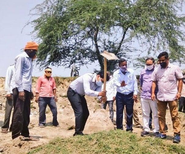मनरेगा से पांडु नदी का पुनरुद्धार कार्य शुरू