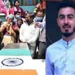 Handwara Encounter: Martyr Dinesh singh Mother Feel proud on his only son Funeral and crying