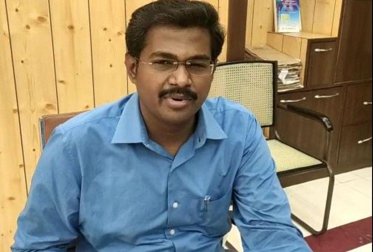डीएम के. विजयेंद्र पांडियन।(file)