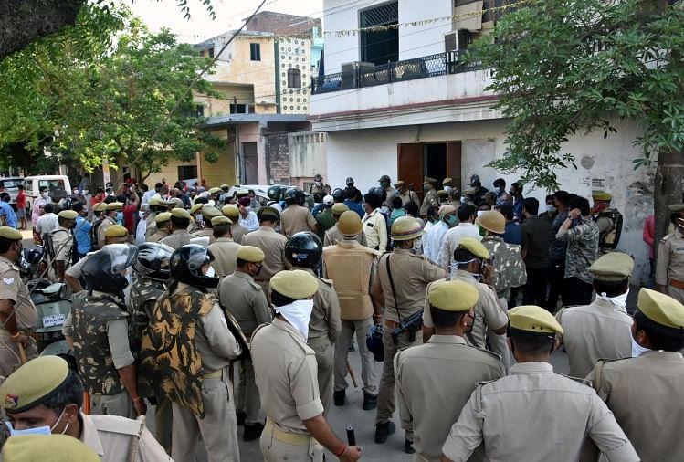 lockdown in prayagraj