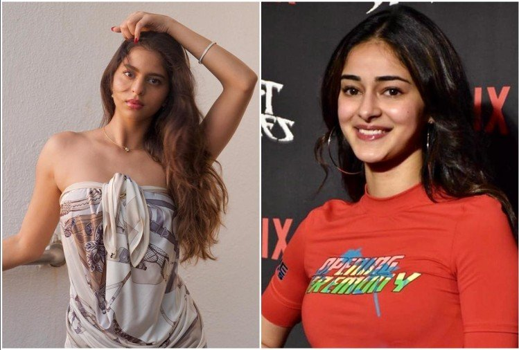 ananya panday wish friend suhana khan birthday on social media with stylish pic