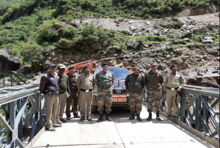 Bailey bridge of 100 feet ready on Indo china Road, Kailash mansarovar yatra will easy