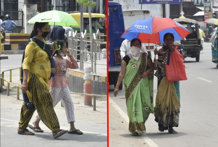 weather change in Gorakhpur and Basti Zone after heavy heat wave