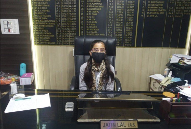 Heena Thakur SDM for a day in Kangra, score 94 percent in 10th exams result HPBOSE Dharamshala