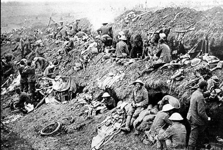 प्रथम विश्व युद्ध के समय की एक तस्वीर