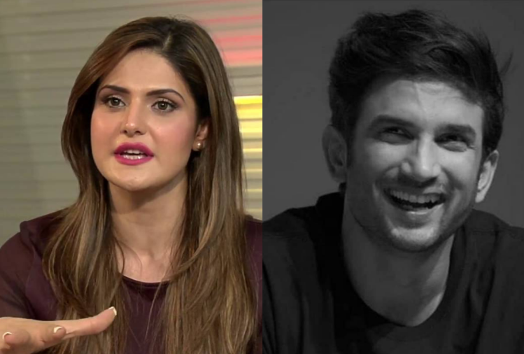 Zareen Khan Raised Too Many Questions After Sushant Singh Rajput ...