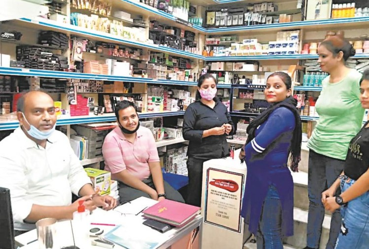 covid 19 effect on cosmetic shops in lucknow