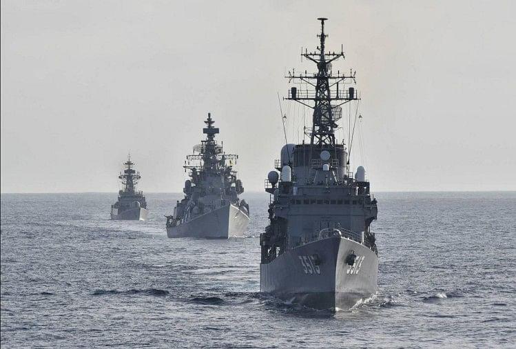 भारत और जापानी नौसेना आज से 'जीमेक्स' अभ्यास में जुटेंगी अरब सागर में दिखेगी ताकत