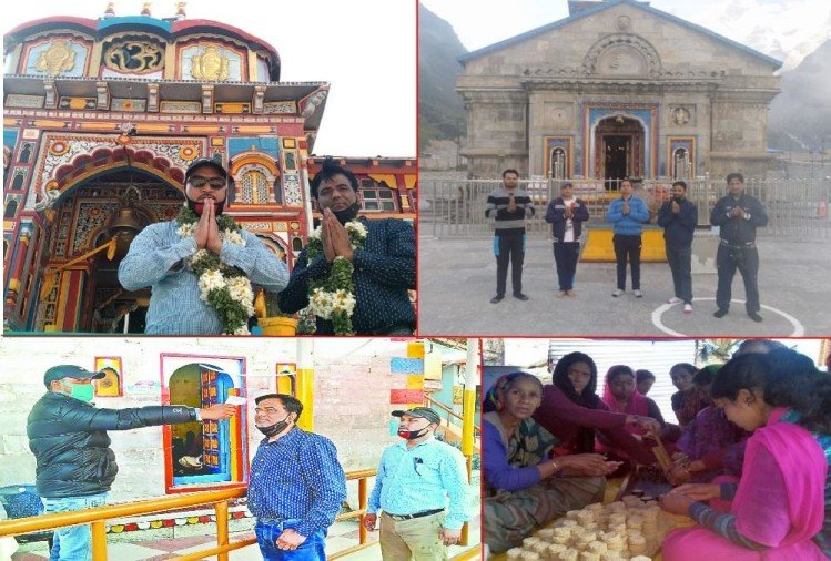 Char dham yatra 2020: Yatra starts From today, 132 pilgrims Reached char dham First day